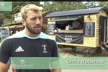 Chris Robshaw Interview Gallery