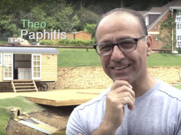 Theo Paphitis and Blackdown Shepherd Huts Gallery